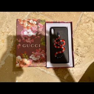GUCCI CASE IPHONE XS/X